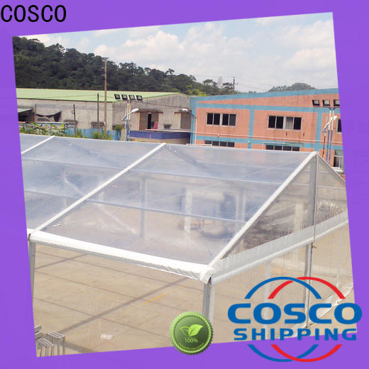 COSCO exhibition large tents for sale for disaster Relief
