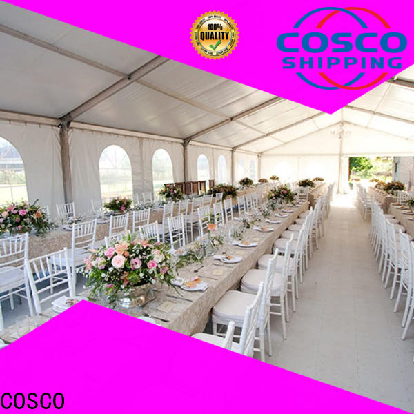 COSCO small custom tents for sale for disaster Relief