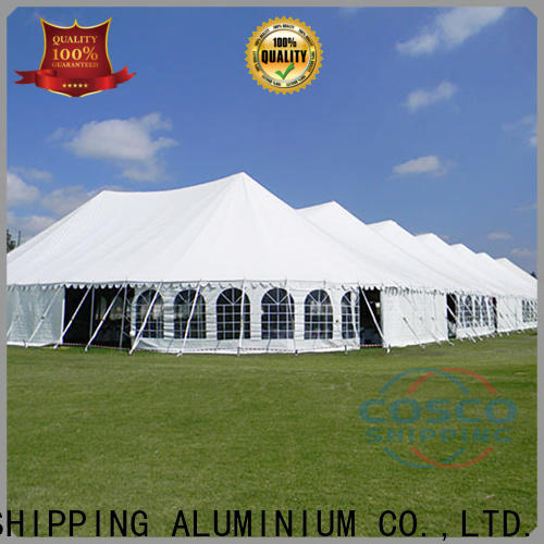 COSCO event pole tents for sale for engineering