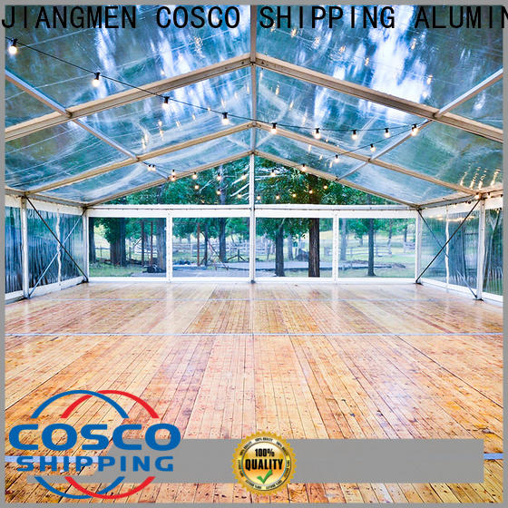 COSCO aluminium festival tents for sale for disaster Relief