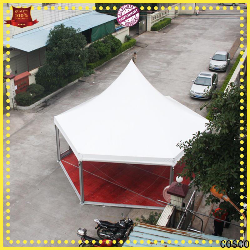 COSCO gazebo gazebo tent in-green for disaster Relief
