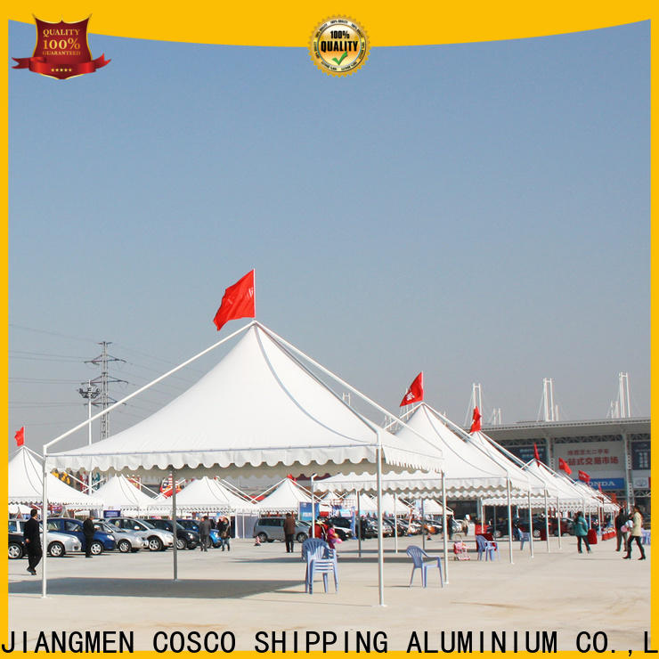 COSCO screened gazebo supplier for engineering