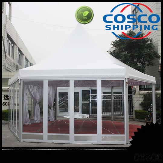 COSCO aluminium small gazebo supplier for engineering