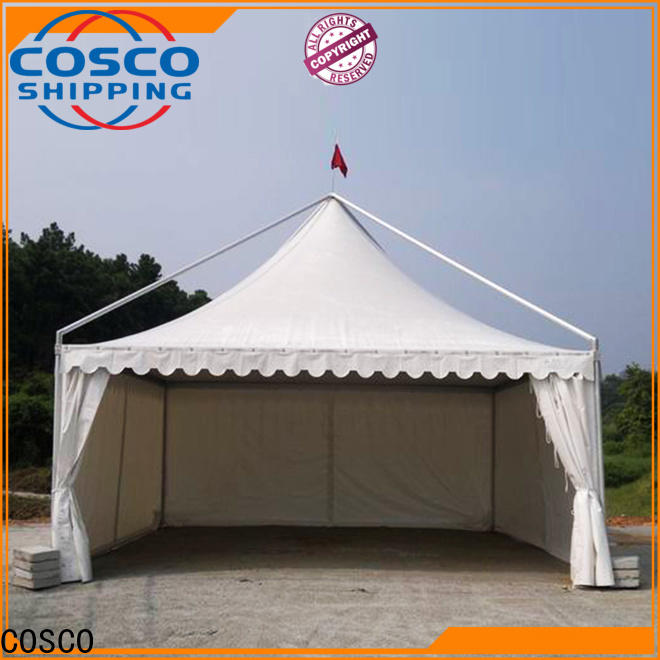 COSCO exhibition gazebo replacement canopy long-term-use grassland