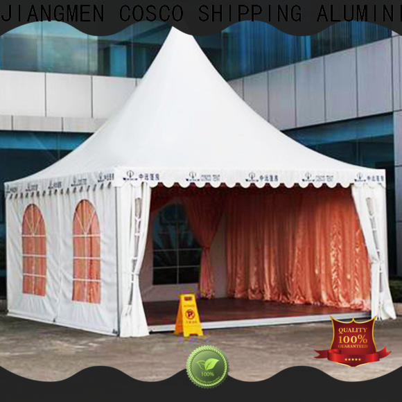 pvc large gazebo 5x5m popular for disaster Relief