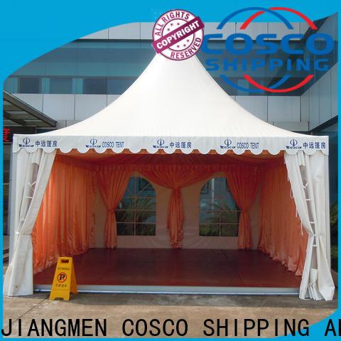 COSCO reasonable steel gazebo widely-use anti-mosquito