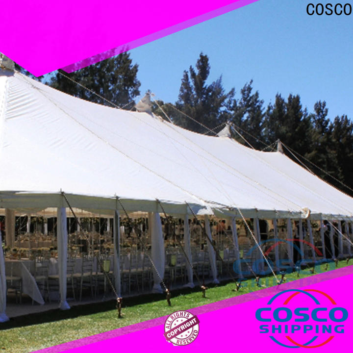 COSCO peg and pole party gazebo certifications for engineering