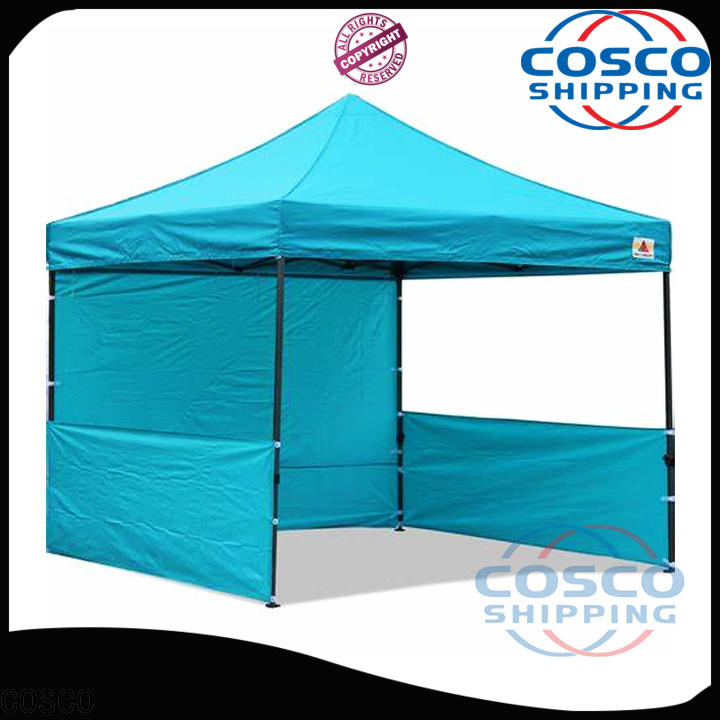 COSCO party 8x8 gazebo effectively for disaster Relief