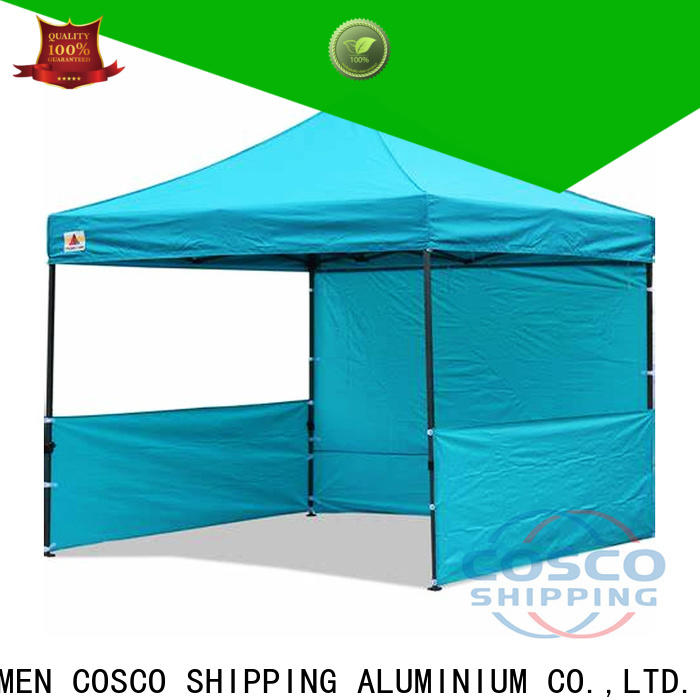 COSCO party steel gazebo in-green for disaster Relief