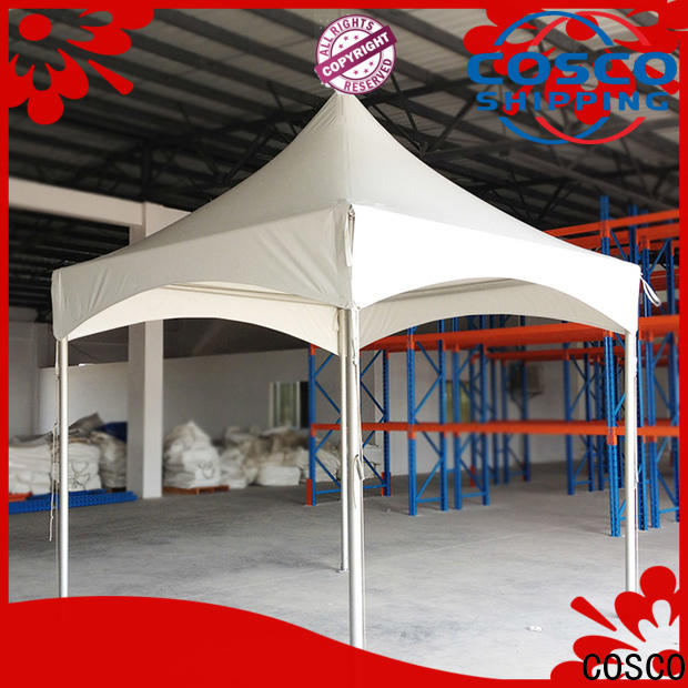 COSCO canopy pole tent in-green for wedding