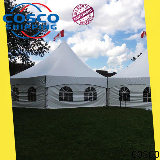 COSCO marquee hiking tents producer for disaster Relief