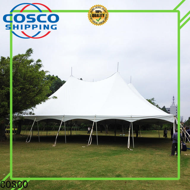 COSCO peg camping cot effectively rain-proof