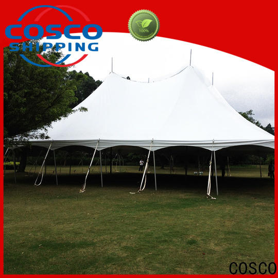 COSCO marquee 2 man tents effectively foradvertising