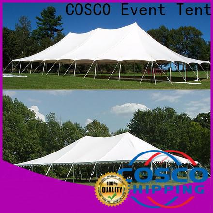 COSCO pole tent poles supplier Sandy land