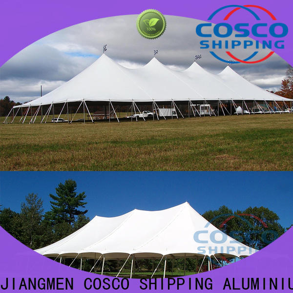 COSCO good-package tent poles China for engineering