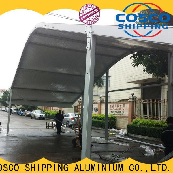 scientific aluminium tent arcum wholesale rain-proof