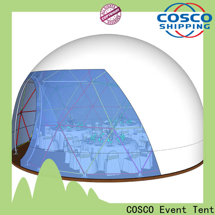 COSCO event dome tents for sale wholesale grassland