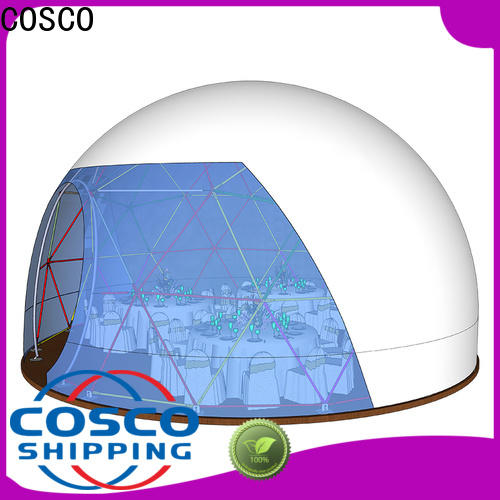 COSCO marquee geodesic dome tent experts rain-proof
