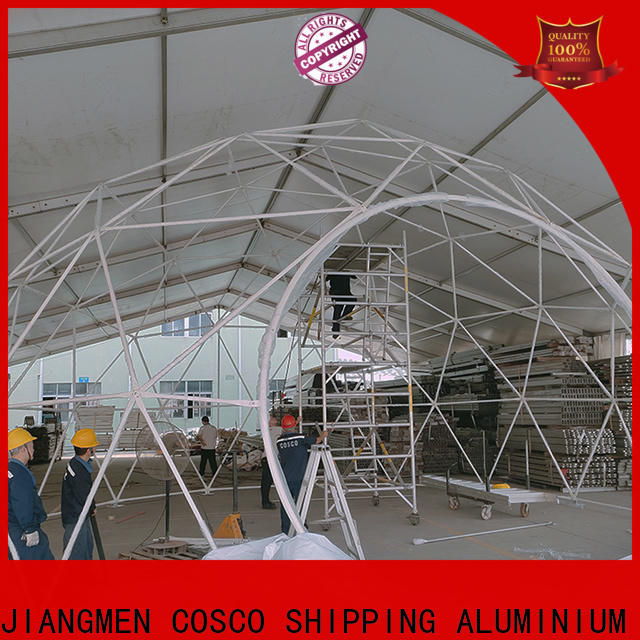 COSCO polygon dome tent factory for party