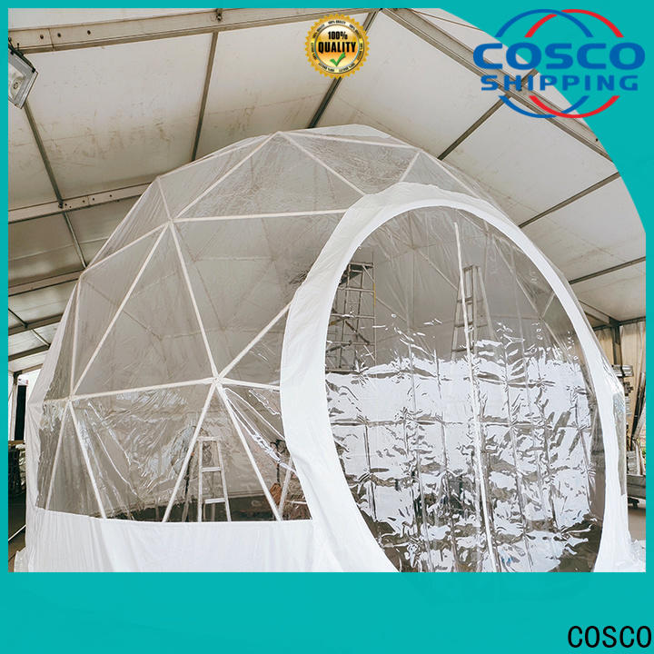 COSCO structure geodesic dome tents manufacturer for camping
