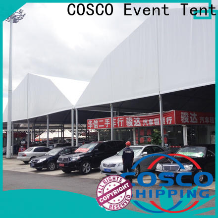 COSCO moudular party tents and events producer factory