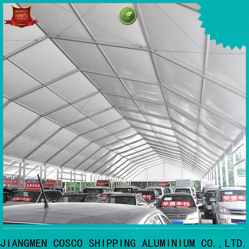COSCO quality pole tent supplier