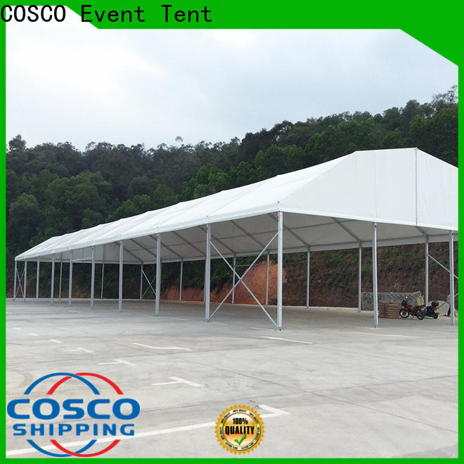 COSCO sale wedding party tent in different shape factory