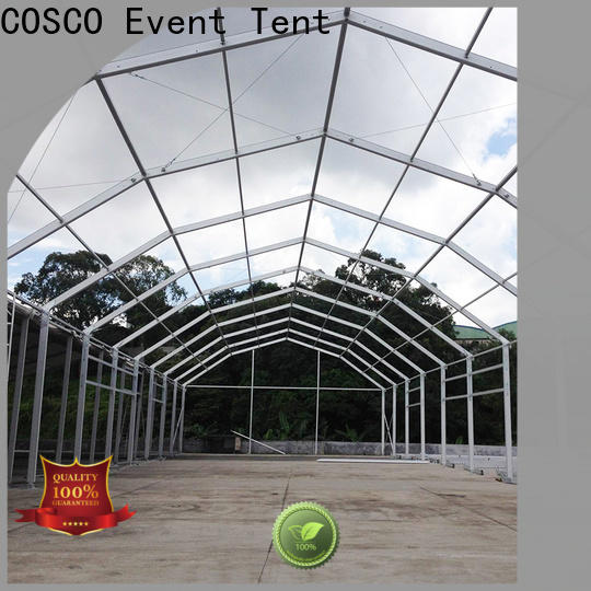 COSCO polygon party tents prices factory for event