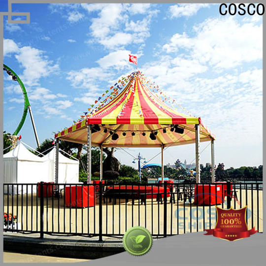 COSCO stable polygon tent in different shape pest control