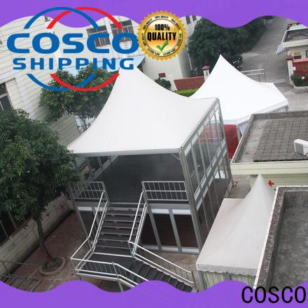 COSCO wedding double decker tent owner foradvertising