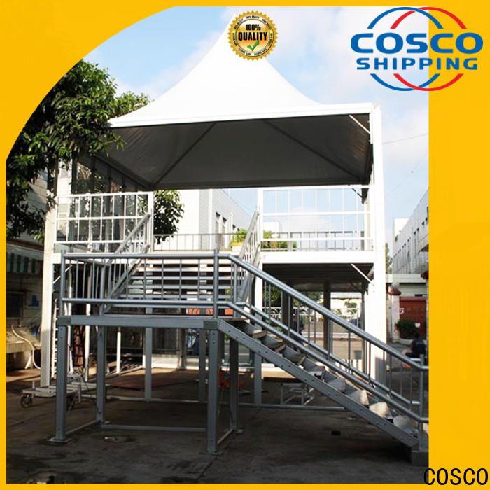COSCO aluminium military tents supplier rain-proof
