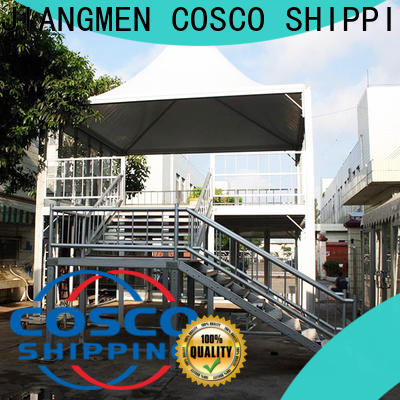 COSCO aluminium double decker tent experts