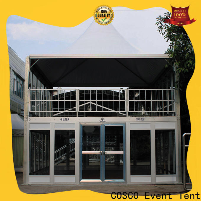 COSCO structure military tents for-sale for holiday