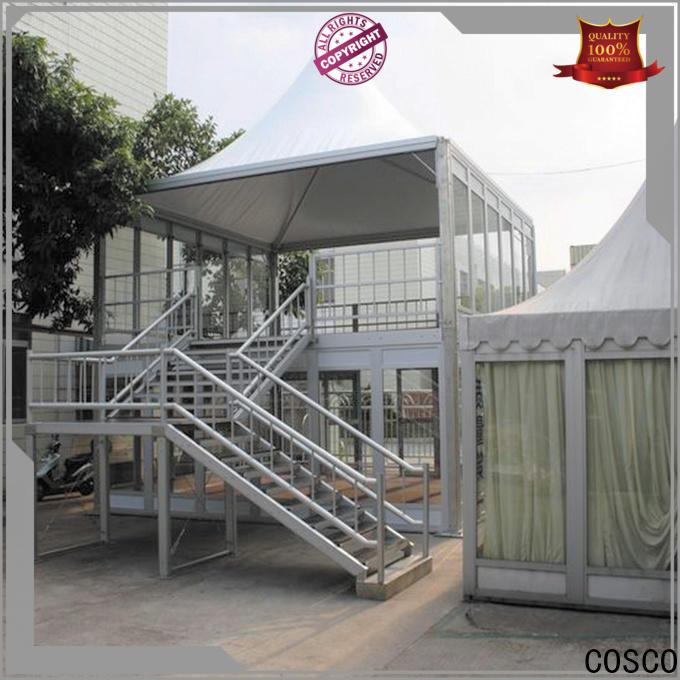 COSCO aluminium event tent marketing for engineering