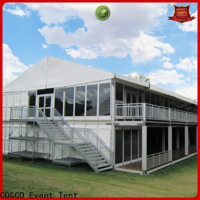 custom storage tent two marketing Sandy land
