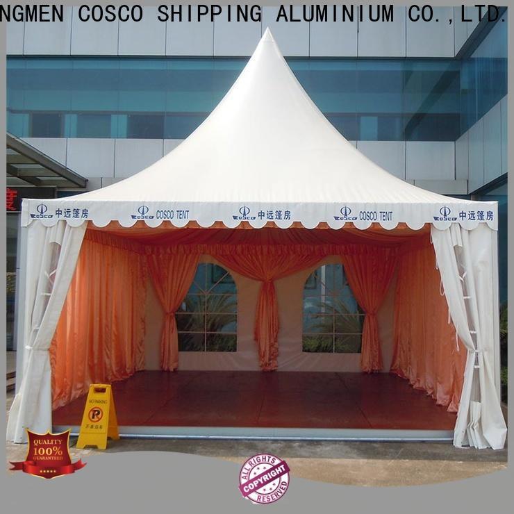 COSCO event beach tent certifications dustproof