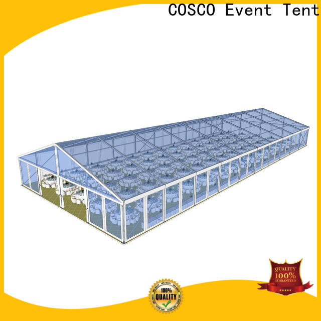 COSCO structure large party tents for sale price for engineering