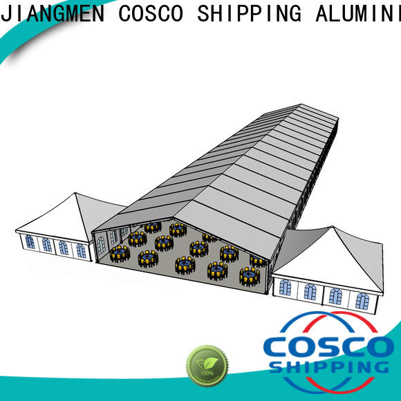 COSCO or custom tents for holiday