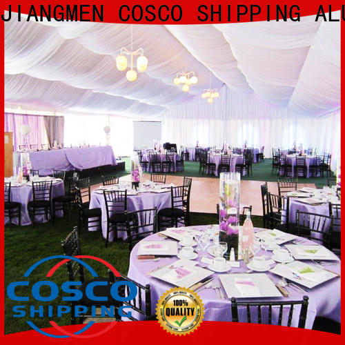 COSCO 40x60m commercial party tents for sale owner