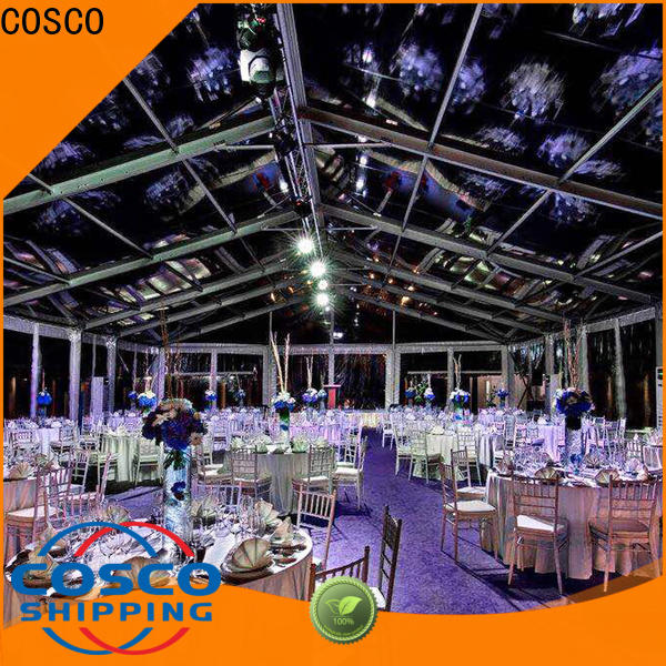 COSCO canopy party canopy experts for disaster Relief