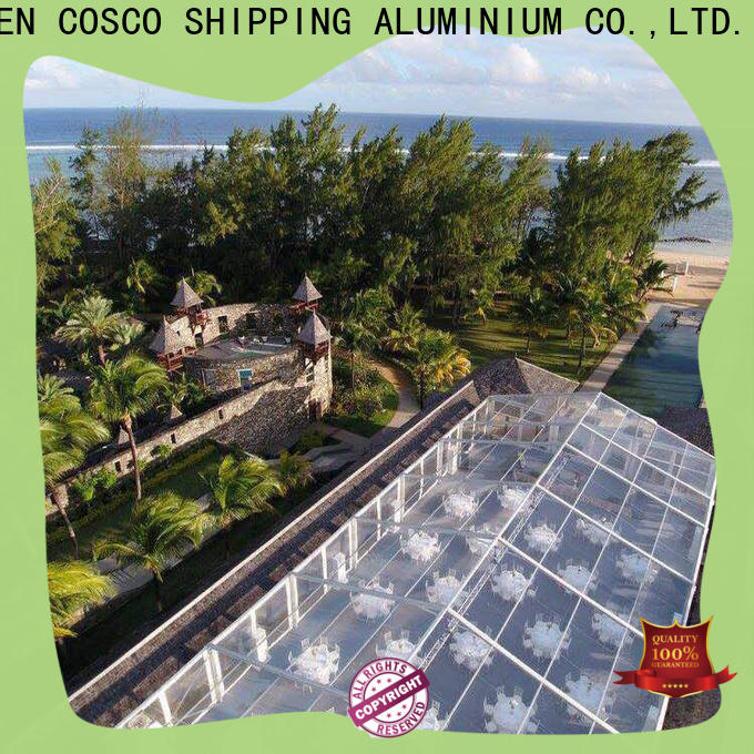 COSCO structure outdoor party tents for-sale