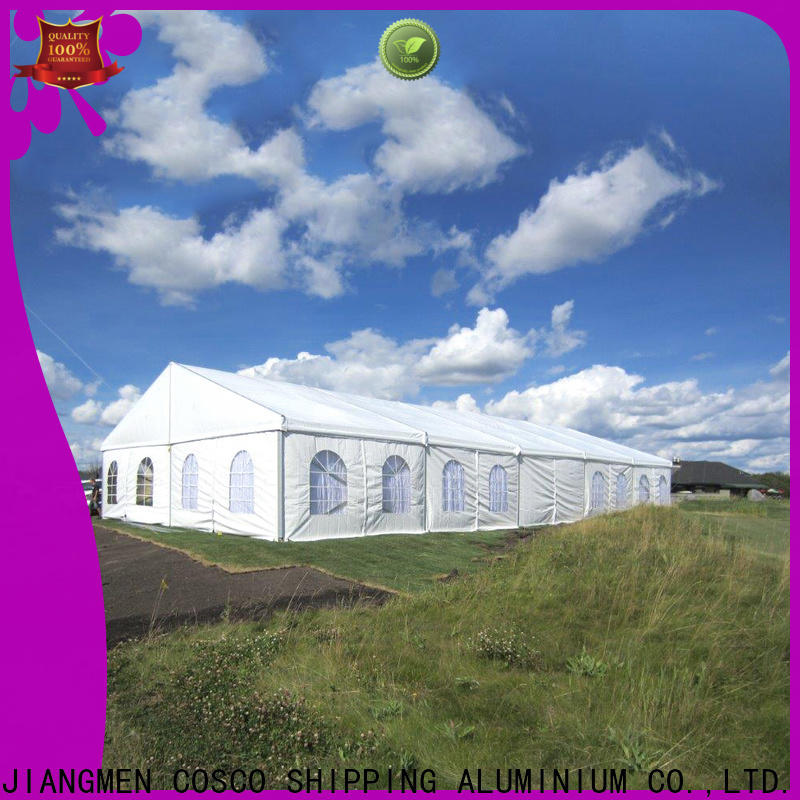 COSCO structure clear span tent for sale for holiday