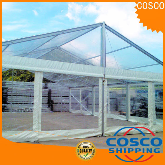 COSCO exquisite commercial tents owner for engineering