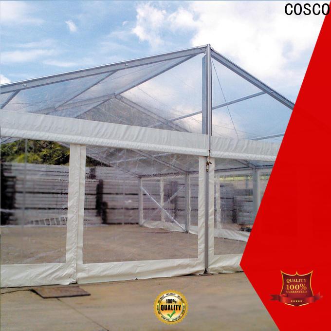 COSCO commercial tents rain-proof
