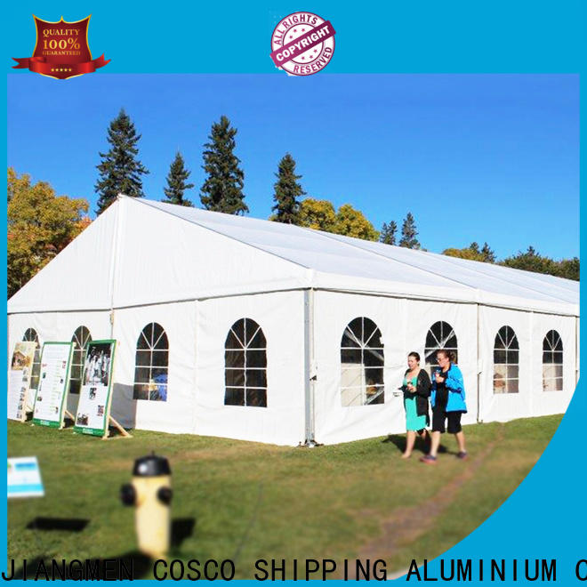 COSCO event commercial party tents for sale owner for disaster Relief
