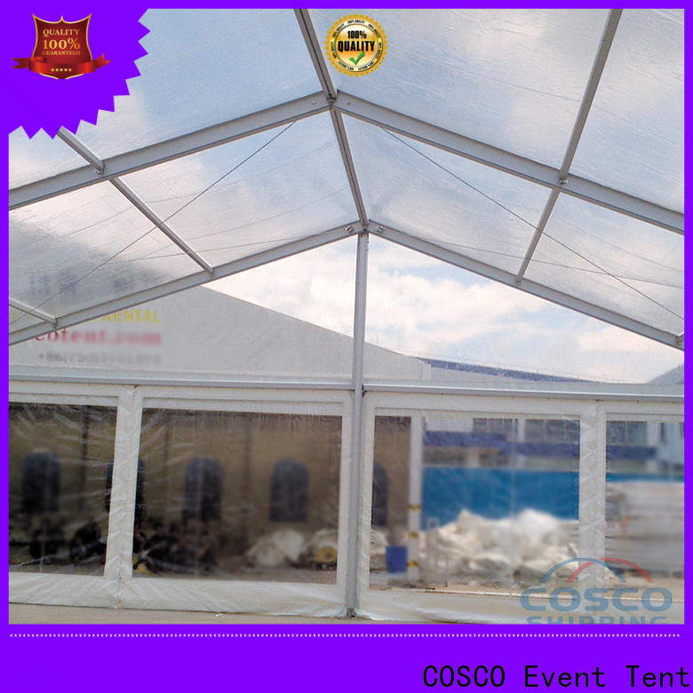 custom party tents for rent 3x9m marketing for disaster Relief