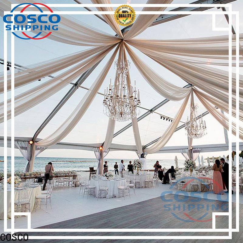 COSCO exhibition industrial tents owner for camping