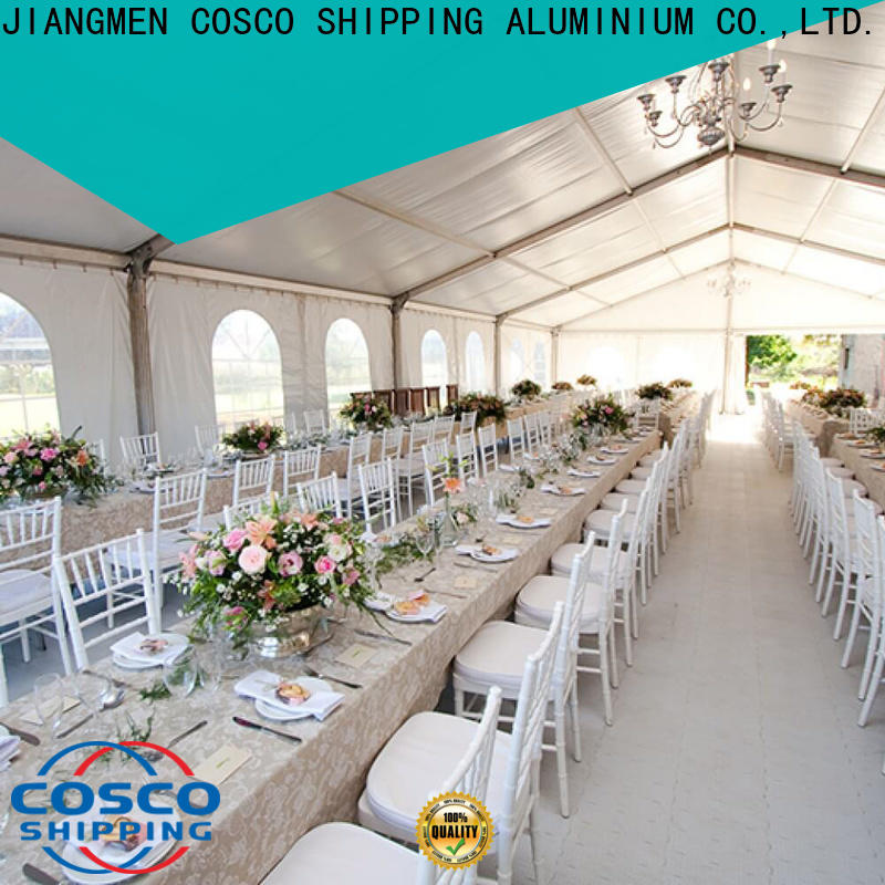 COSCO frame tent structures supplier grassland