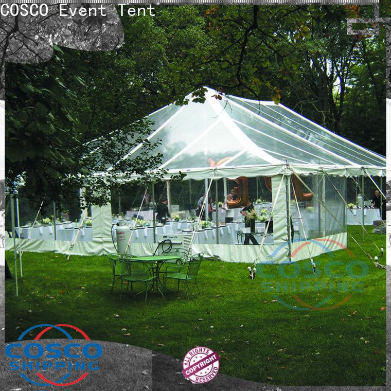 COSCO big temporary tent supplier grassland