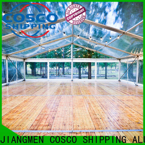 COSCO 40x60m commercial party tents for sale experts for holiday